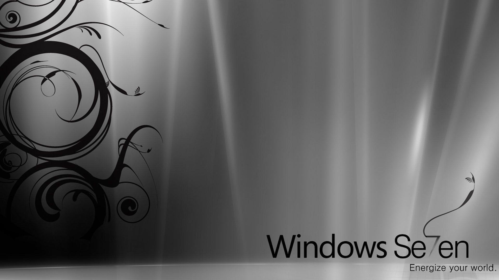 Black Windows Wallpaper 1080p: Windows 7 HD Wallpapers 1080p