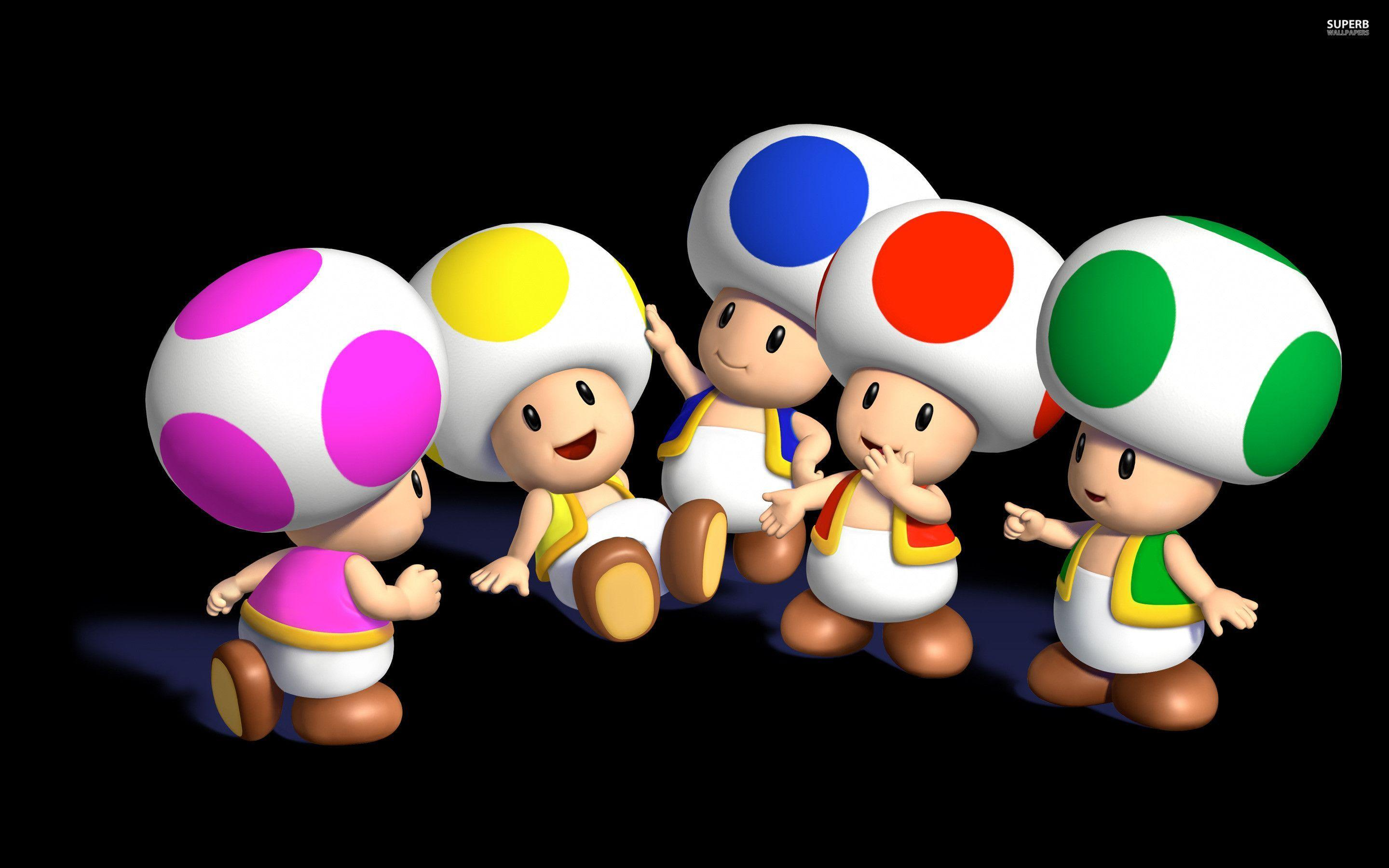 Toad Wallpapers - Wallpaper Cave