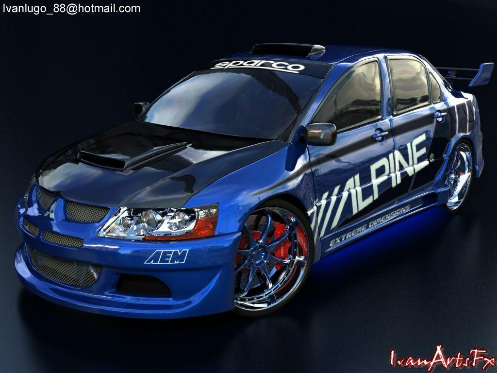 Mitsubishi Evo 8 Wallpaper 19032 HD Wallpapers | sportscarphoto.