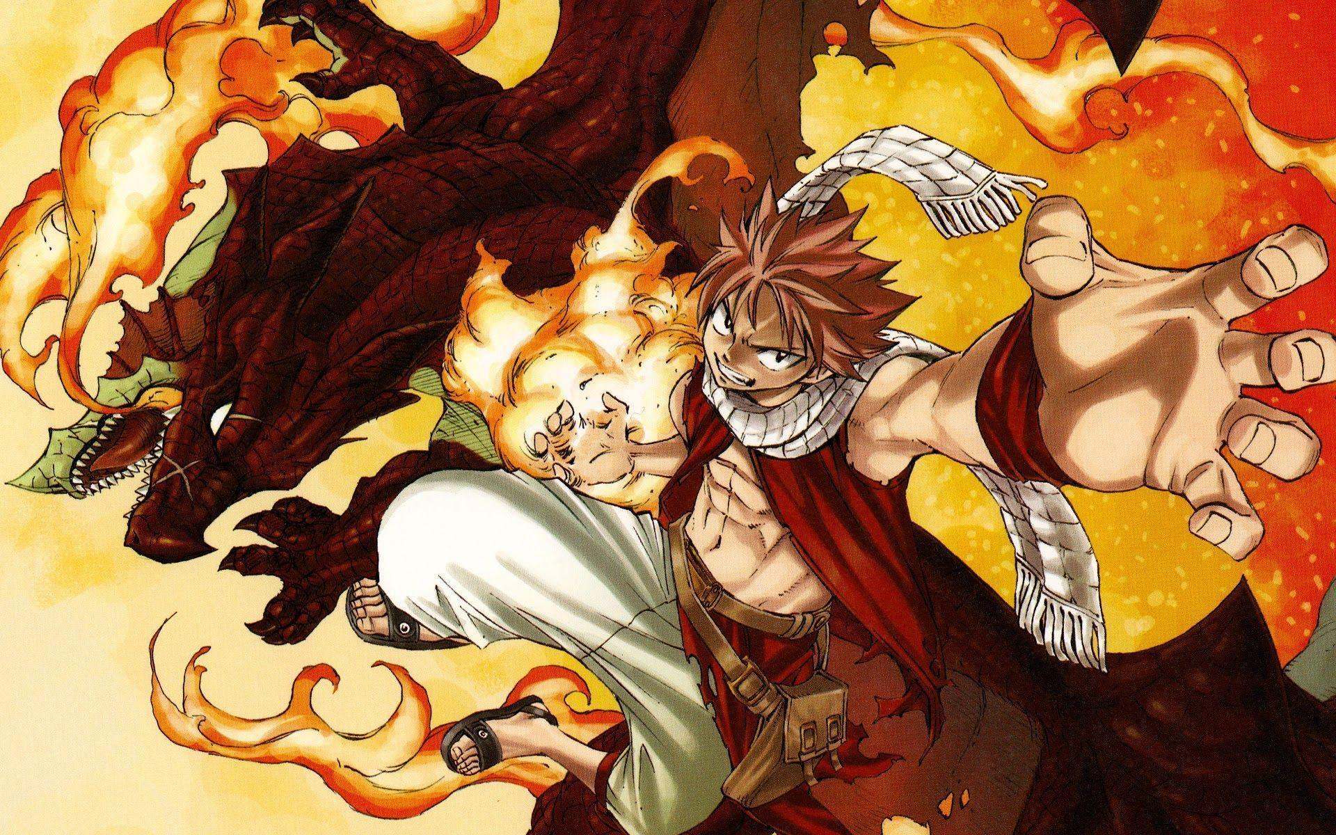 Natsu Dragon Force HD Wallpaper Background