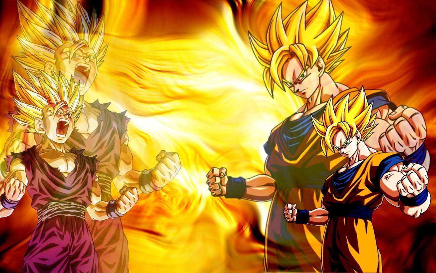 Dragon ball z wallpapers goku wallpaper cave goku gohan wallpaper dragon ball z wallpaper 35713333 fanpop voltagebd Image collections