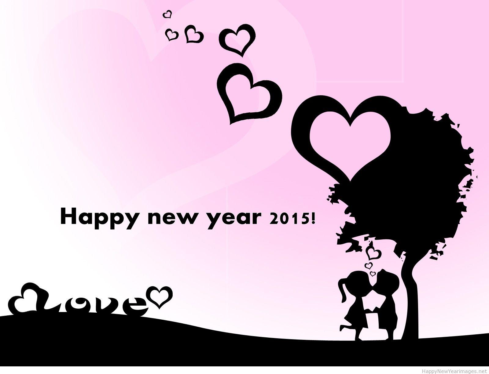 Happy new year 2015 Love wallpapers