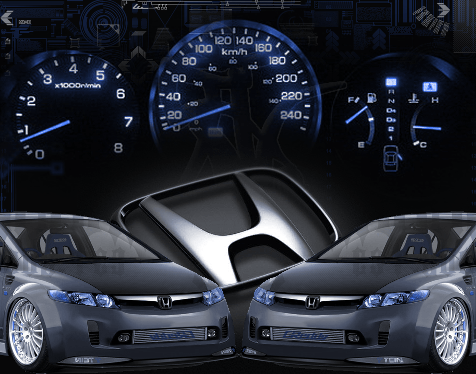 Honda Civic Logo Wallpapers ~ Honda Civic Wallpapers Hd Wallpapers Base