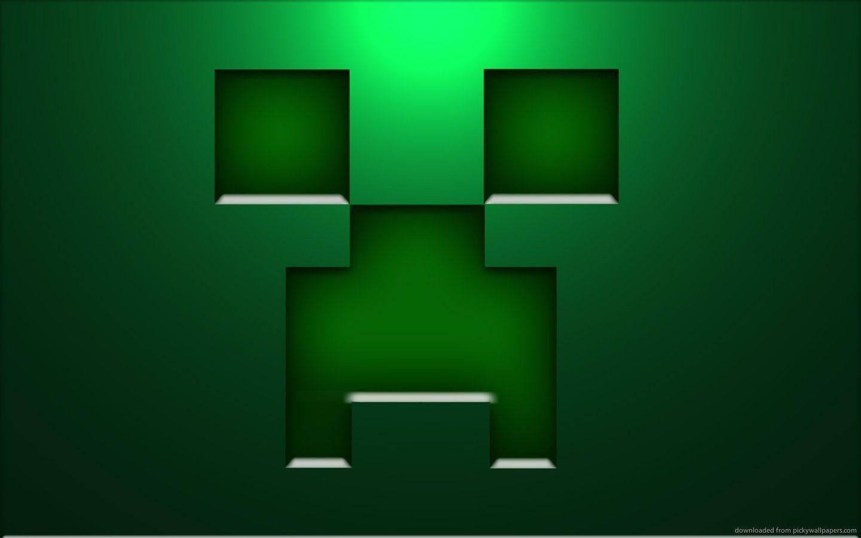 Download 1440x900 Minecraft Creeper Face Wallpaper
