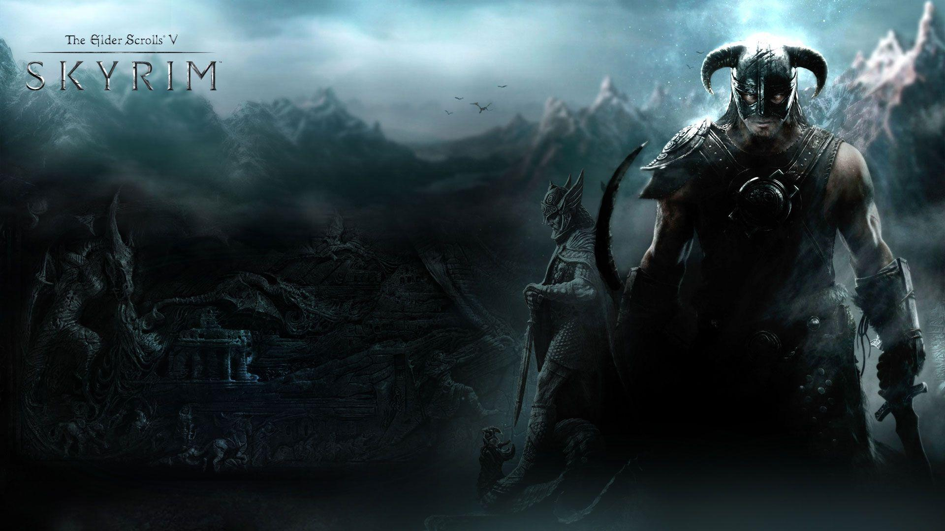skyrim hd wallpapers 1366x768 - photo #36