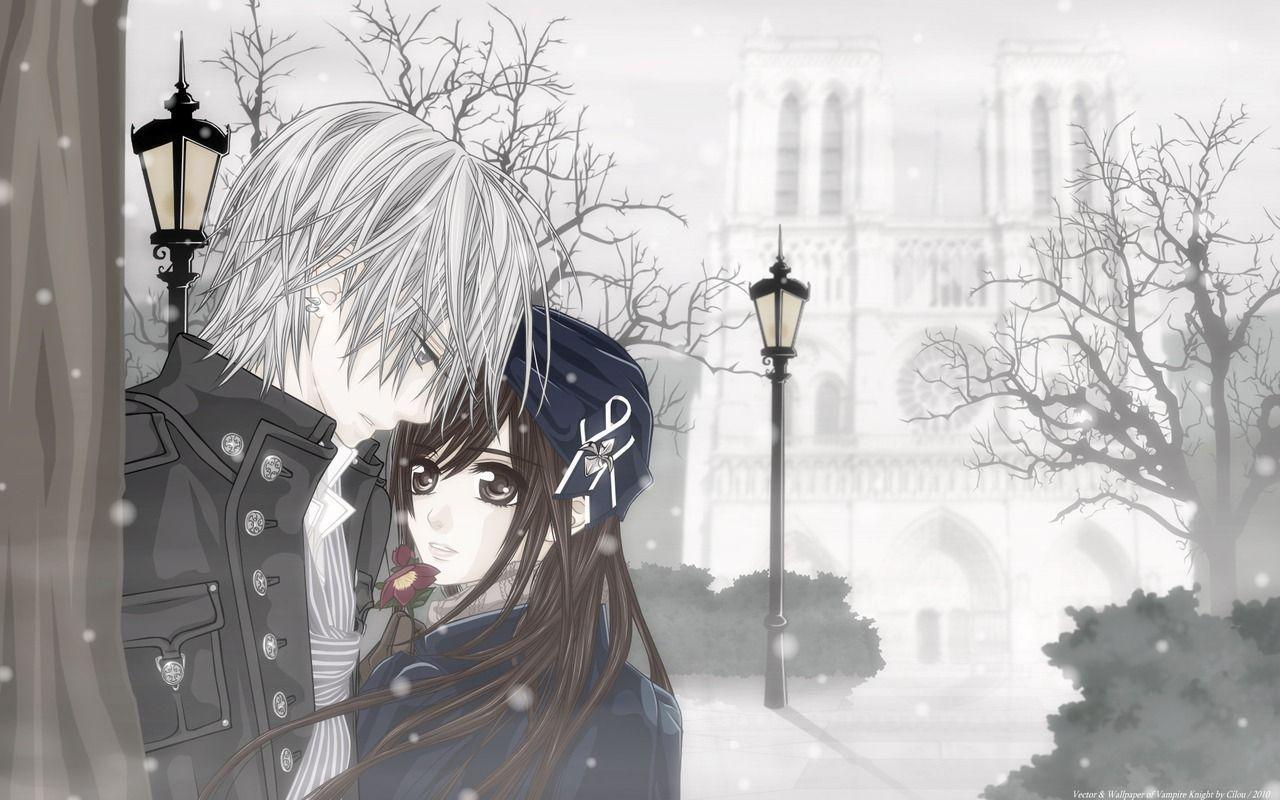 Anime Love Wallpapers: Cute Anime Couple Wallpapers