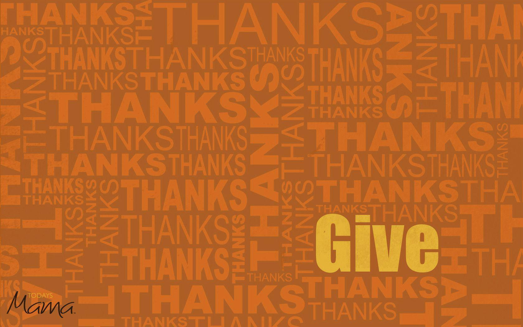 give thanks desktop wallpaper - photo #22