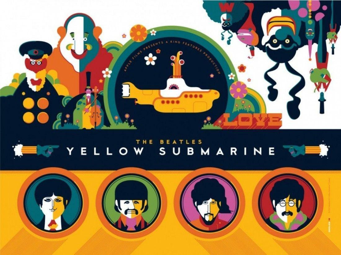 Wallpapers For > The Beatles Yellow Submarine Wallpapers