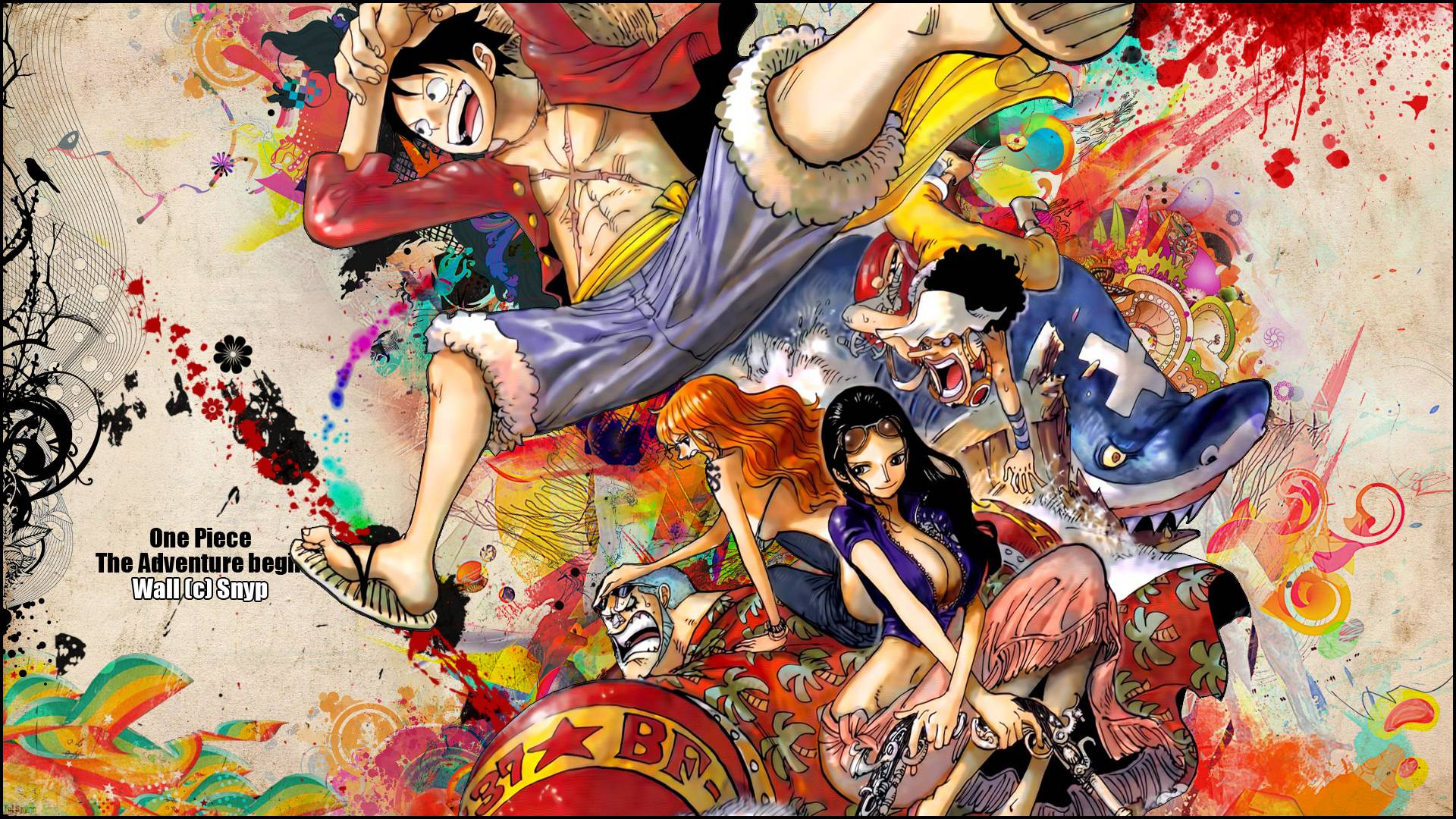 One Piece Full HD Wallpaper and Background | 1920x1080 | ID:164925