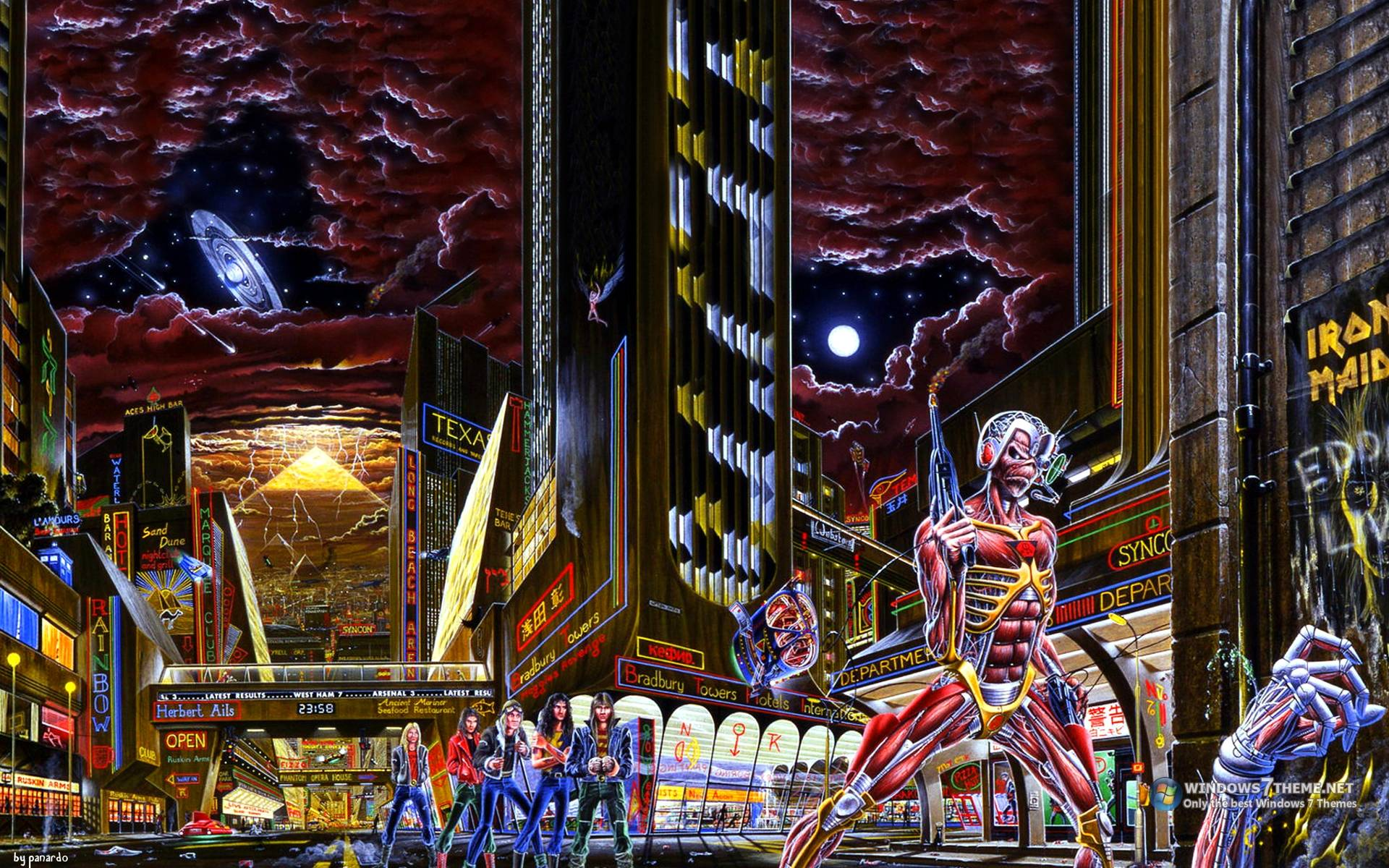 iron maiden wallpapers covers - photo #5