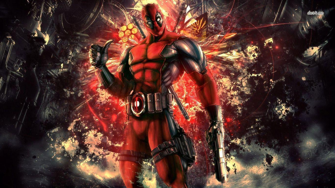 Deadpool Wallpaper Background - ToObjects.