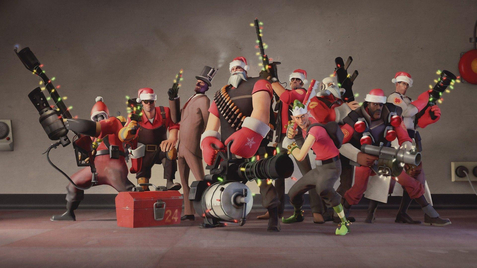 Christmas in Team Fortress 2 Wallpapers #