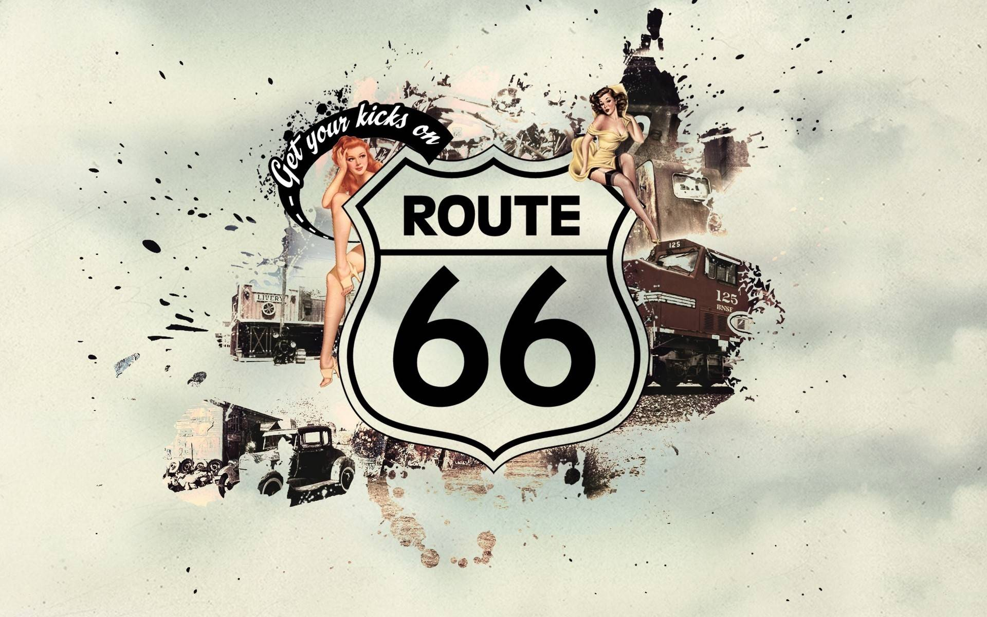 route 66 wallpapers wallpaper cave. Black Bedroom Furniture Sets. Home Design Ideas