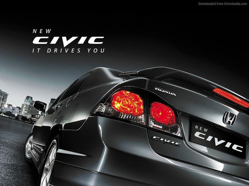 Honda Civic Logo Wallpaper Wallpapers Hd Base