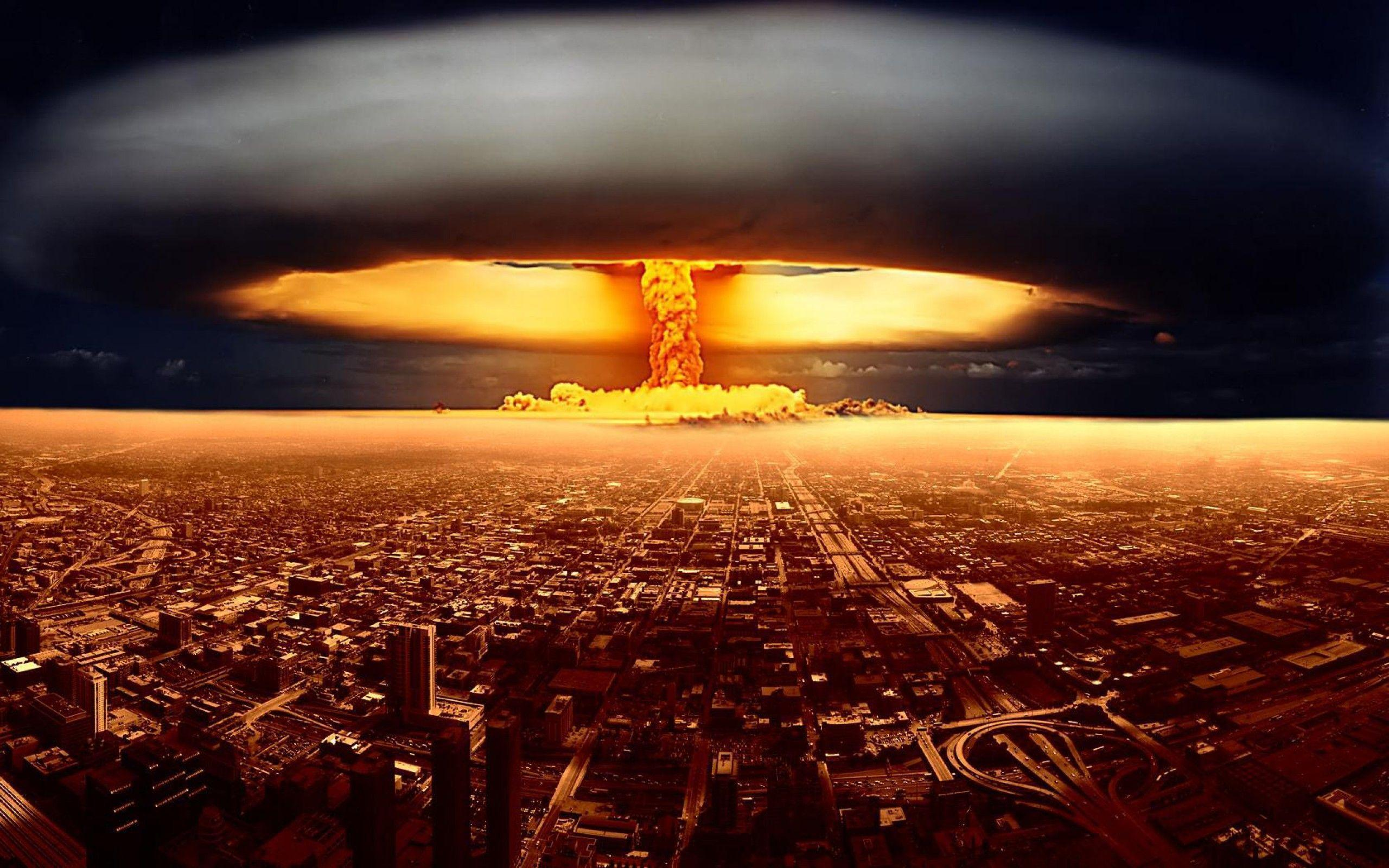 Wallpapers For > Nuclear Explosion Wallpaper Hd
