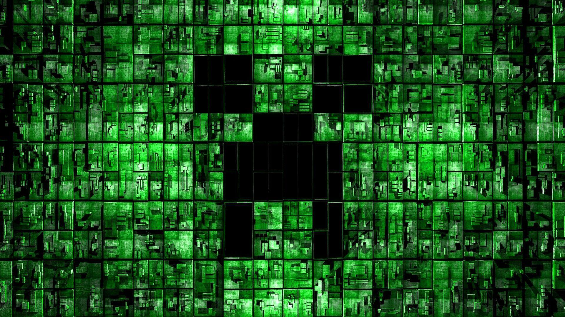 Download creeper minecraft for backgrounds hd of minecraft