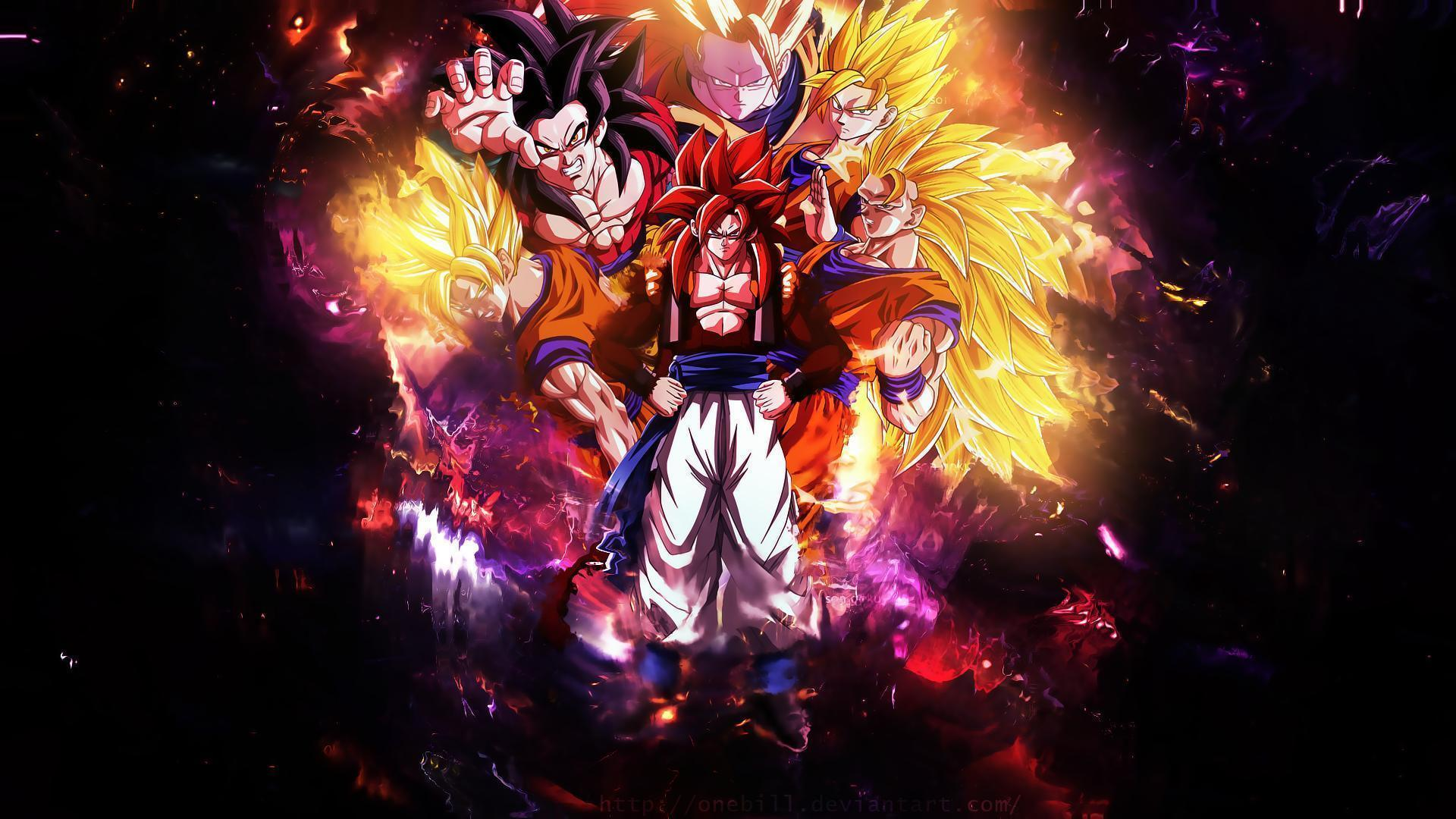 Son goku wallpaper for z10 bb transformation