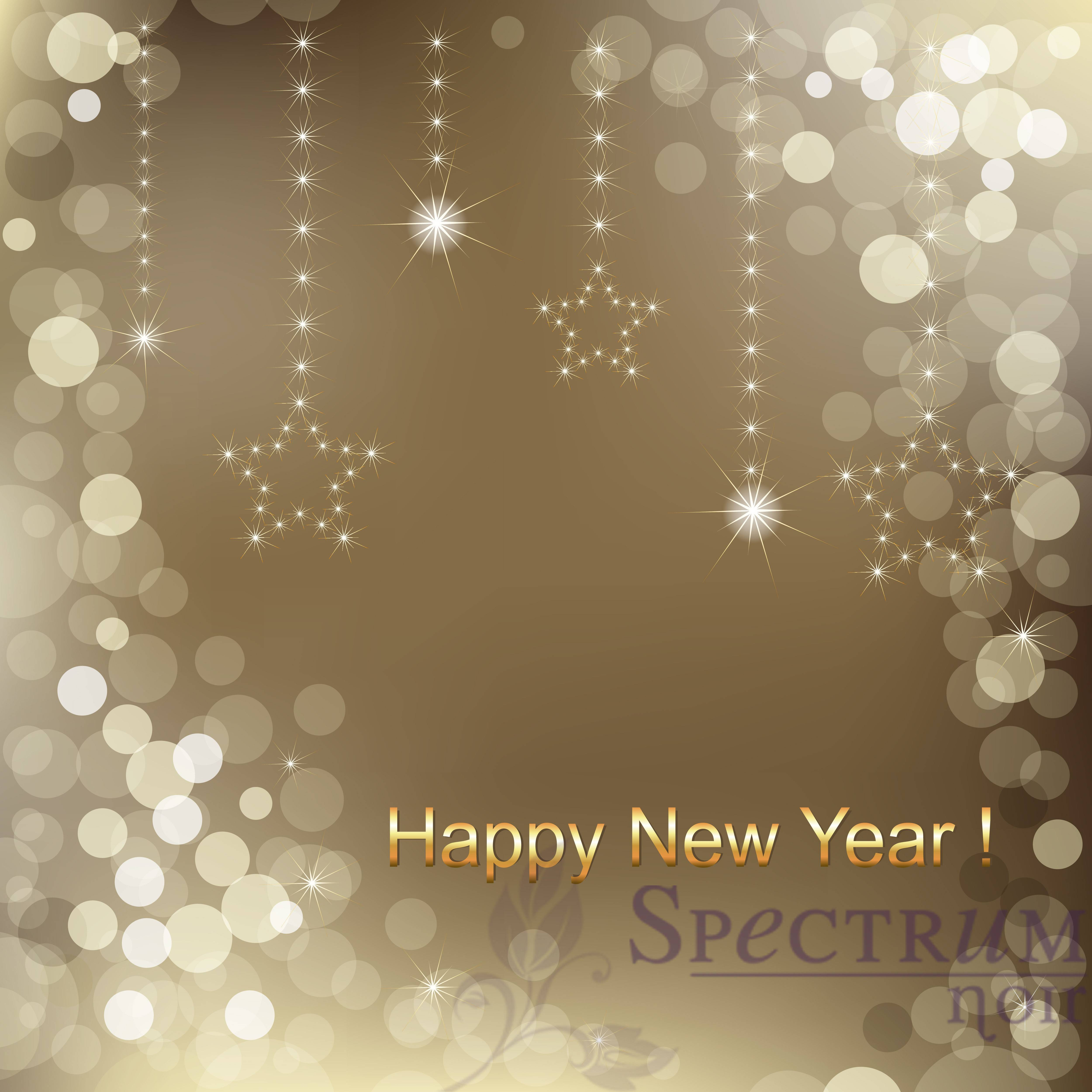 happy new year background spectrum noir coloring system from