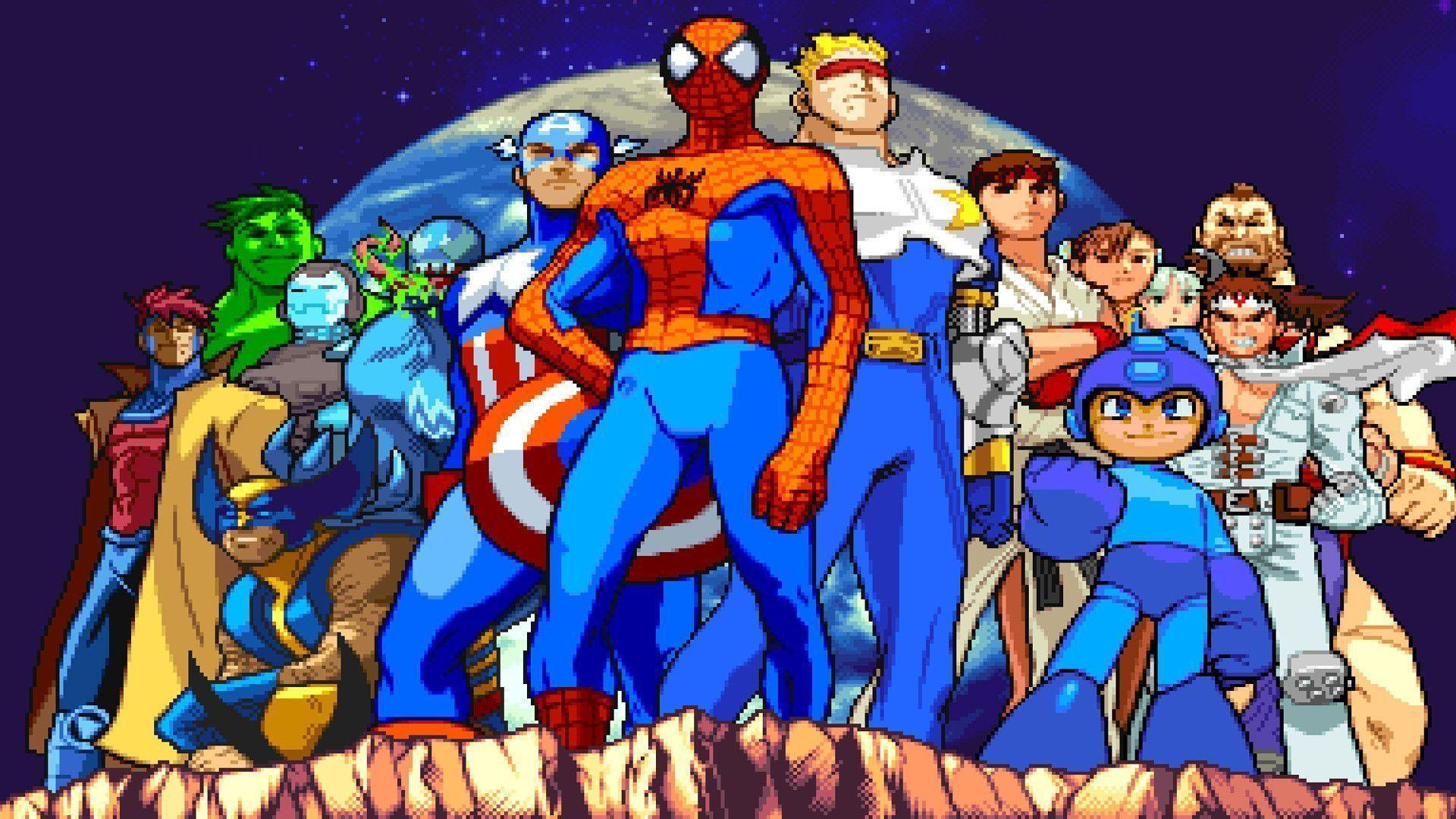 Marvel Vs. Capcom on the AudioShocker Podcast Network