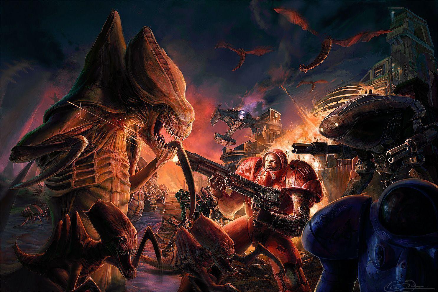 Starcraft wallpapers wallpaper cave - Starcraft 2 wallpaper art ...