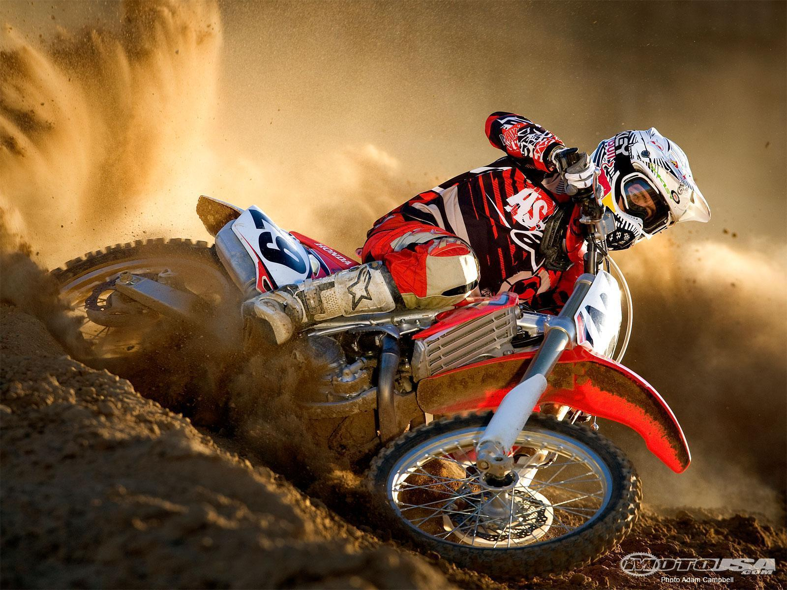 Vehicles For > Dirt Bikes Wallpapers For Kids