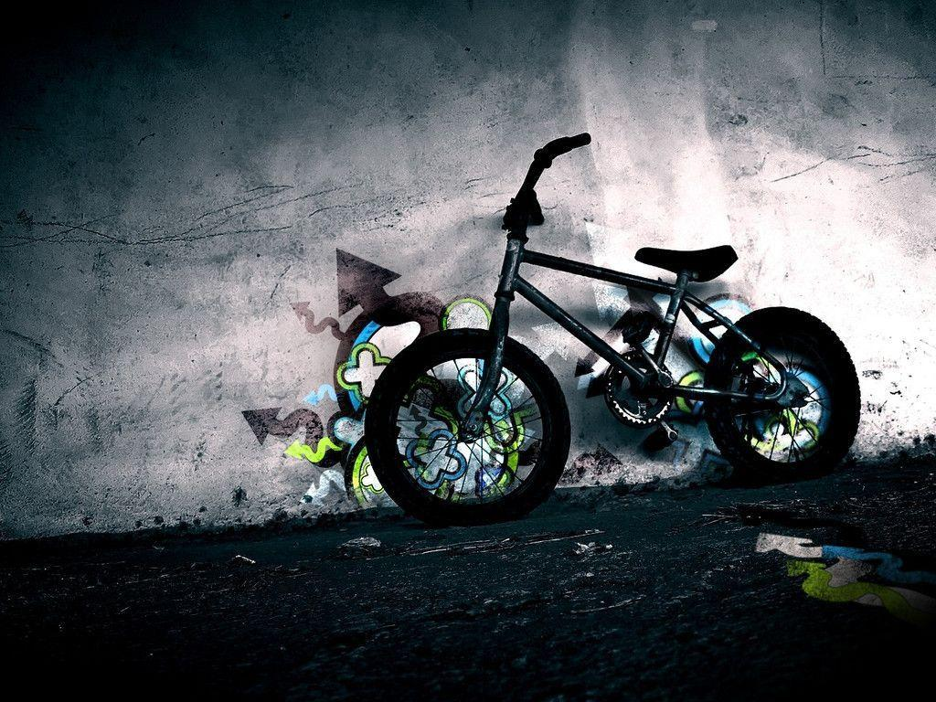 bmx and girl wallpaper - photo #19