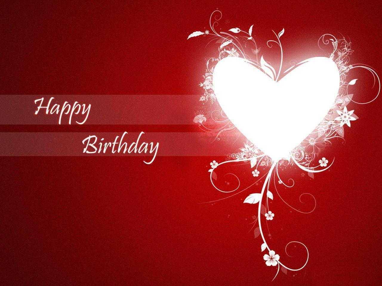 Happy Birthday Love Wallpapers