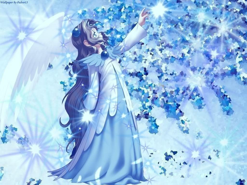 Winter Anime Girl Wallpaper