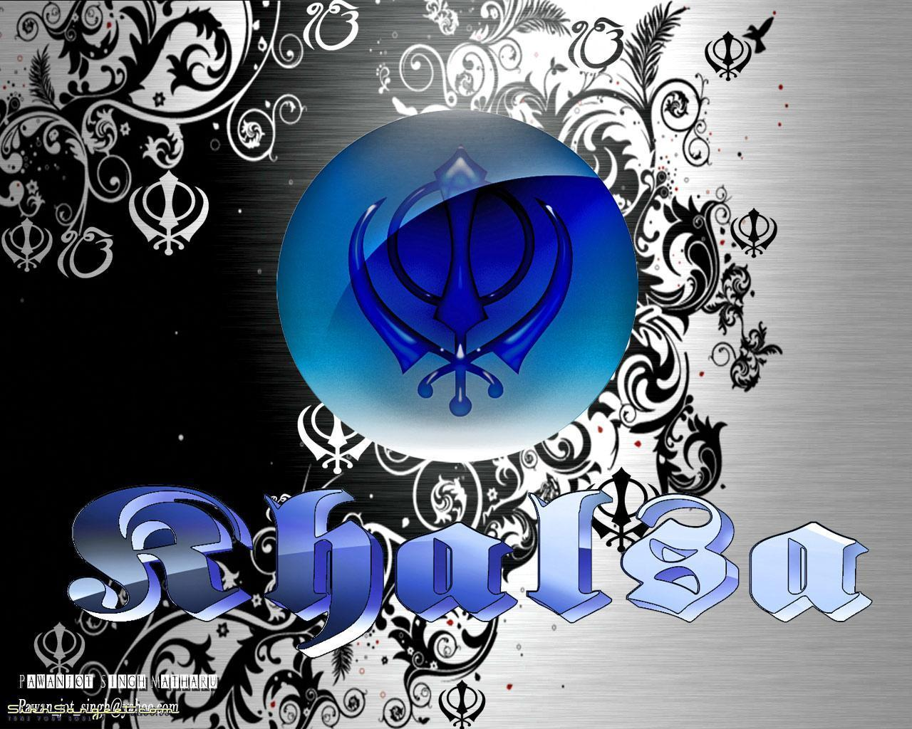 Sikh Khanda Wallpapers