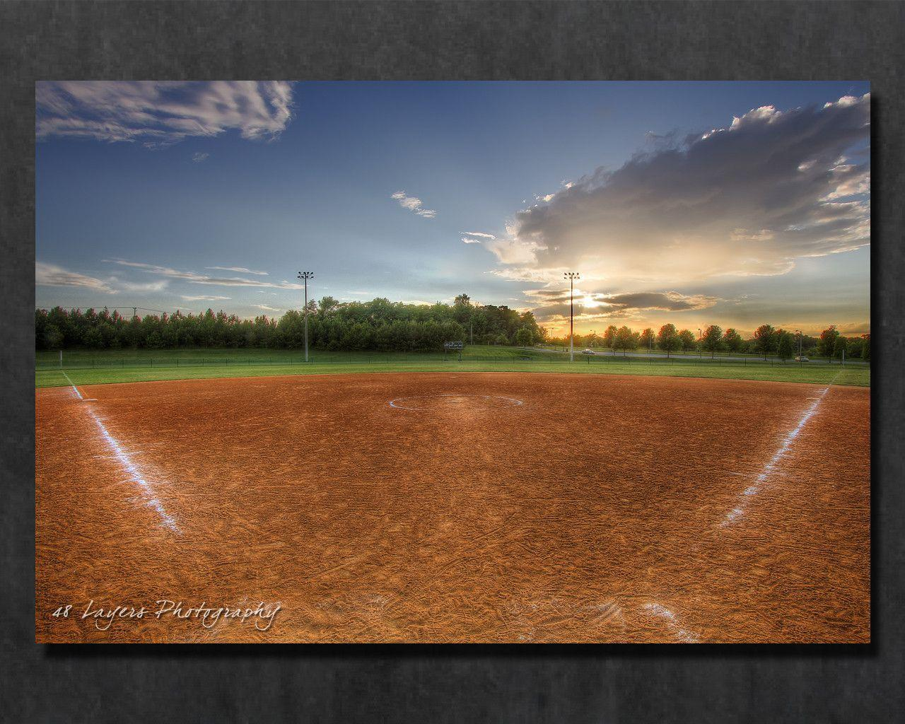 Softball field wallpaper baseball field backgrounds wallpaper cave