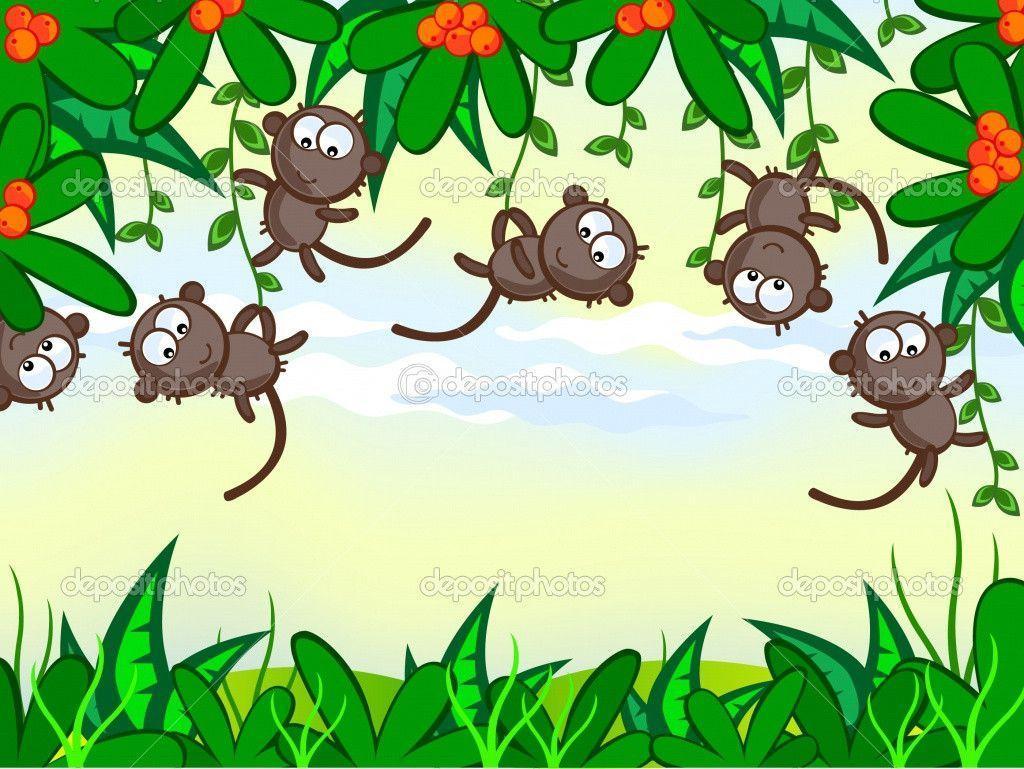 monkey cartoon wallpaper - photo #27