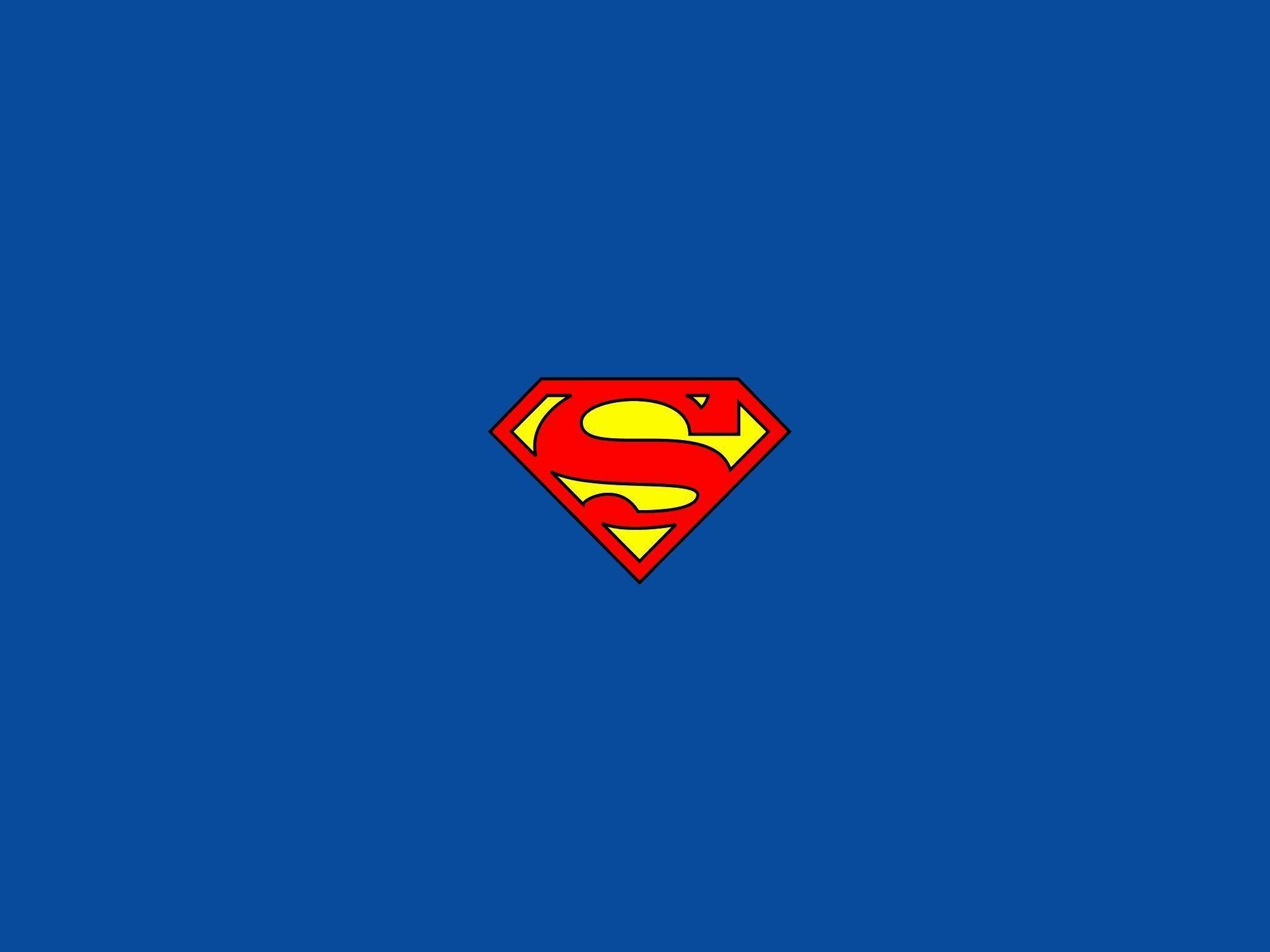 Superman Logo Ipad Wallpapers