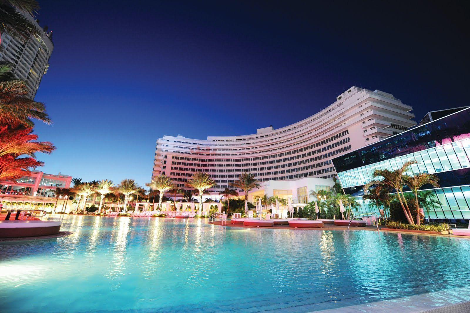 Download Fontainebleau Hotel Miami Beach Hd Wallpaper | Full HD ...