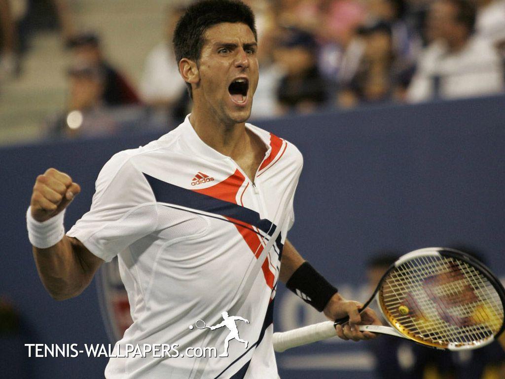 Tennisbone : Tennis Now and Forever: Wallpaper of Novak Djokovic