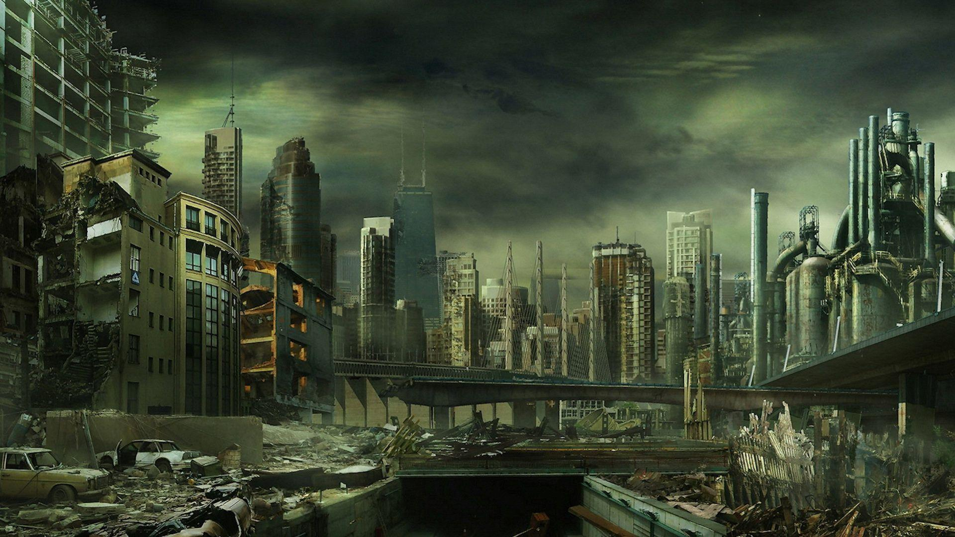 Destroyed City Backgrounds - Wallpaper Cave