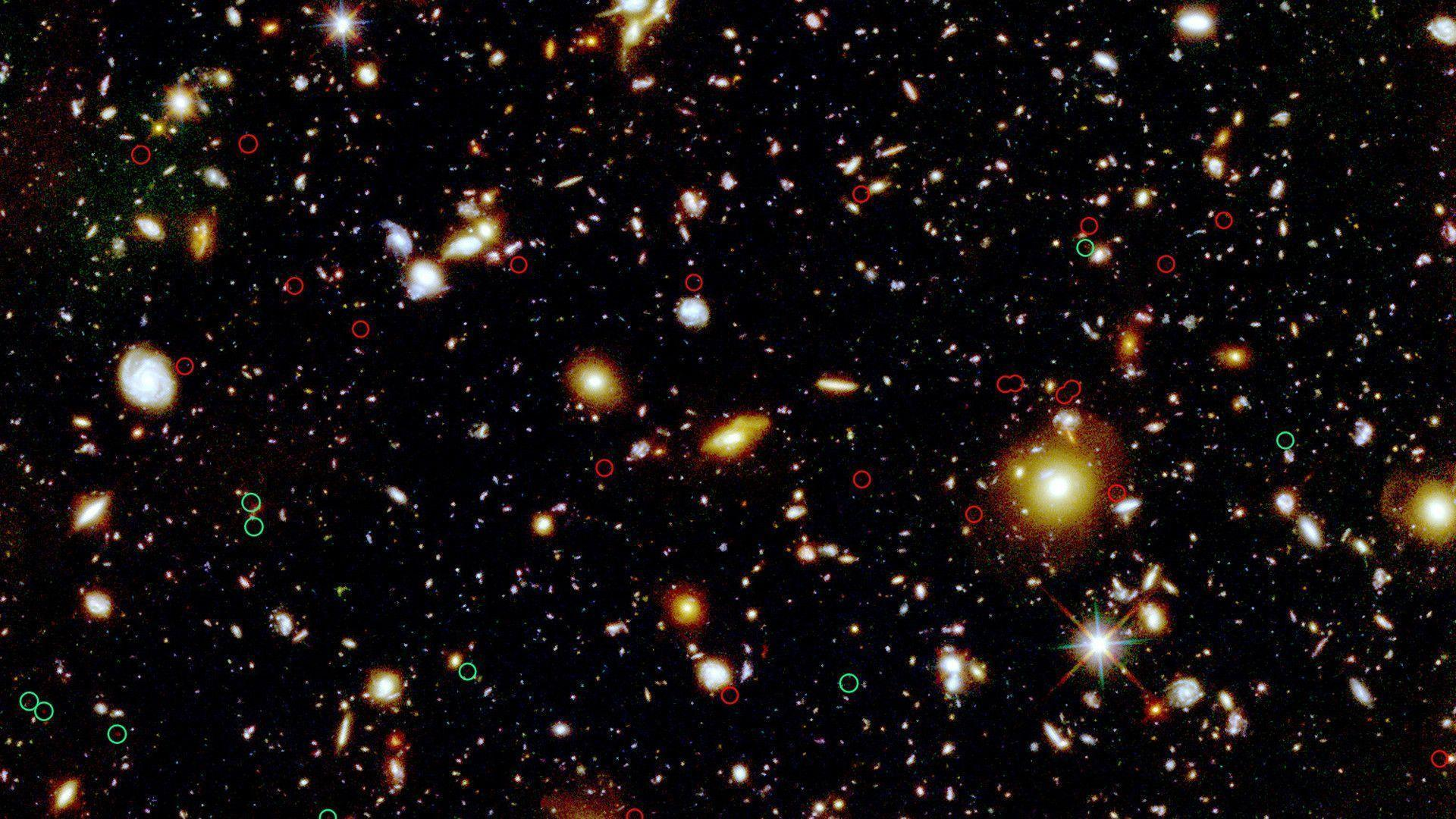 hubble deep field hd wallpaper - photo #8