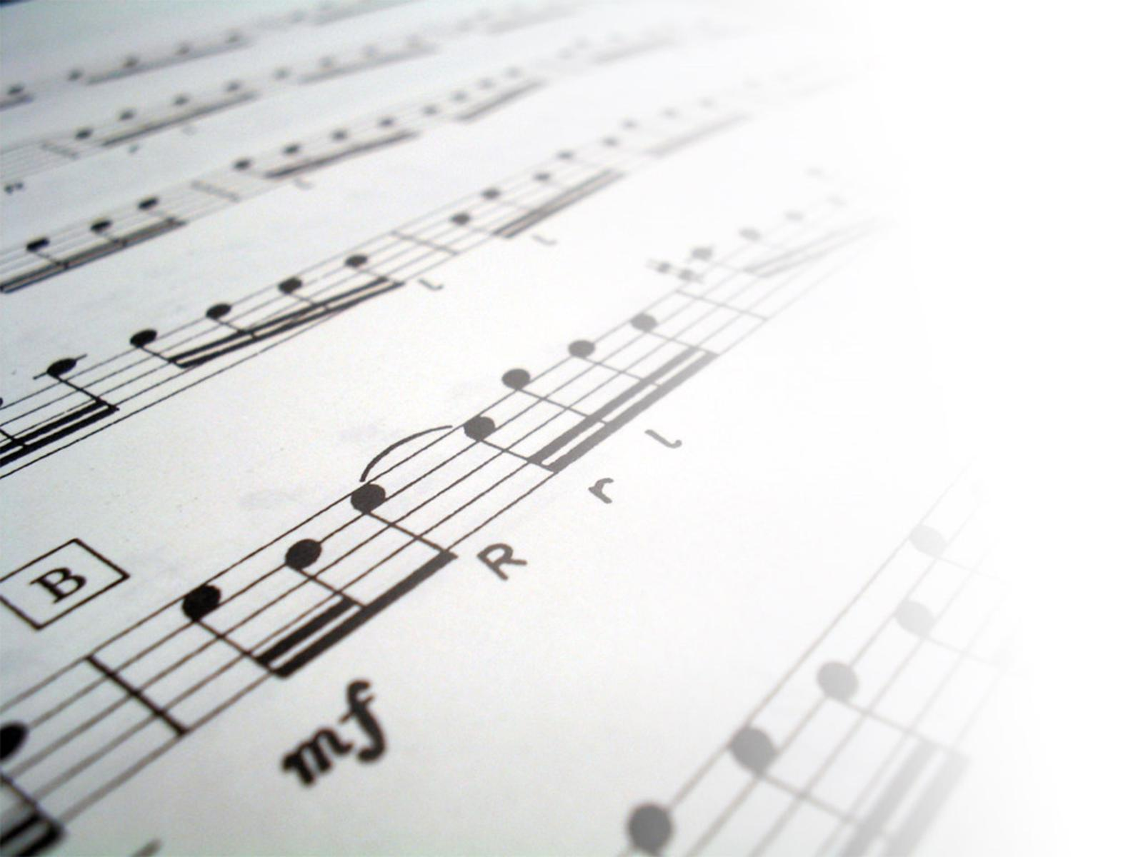 sheet music 2 wallpaper - photo #16