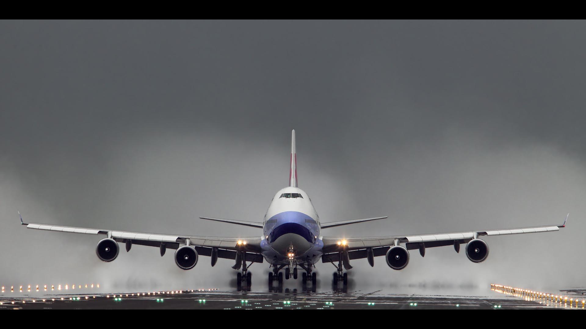 airplane landing wallpaper wallpapers - photo #26
