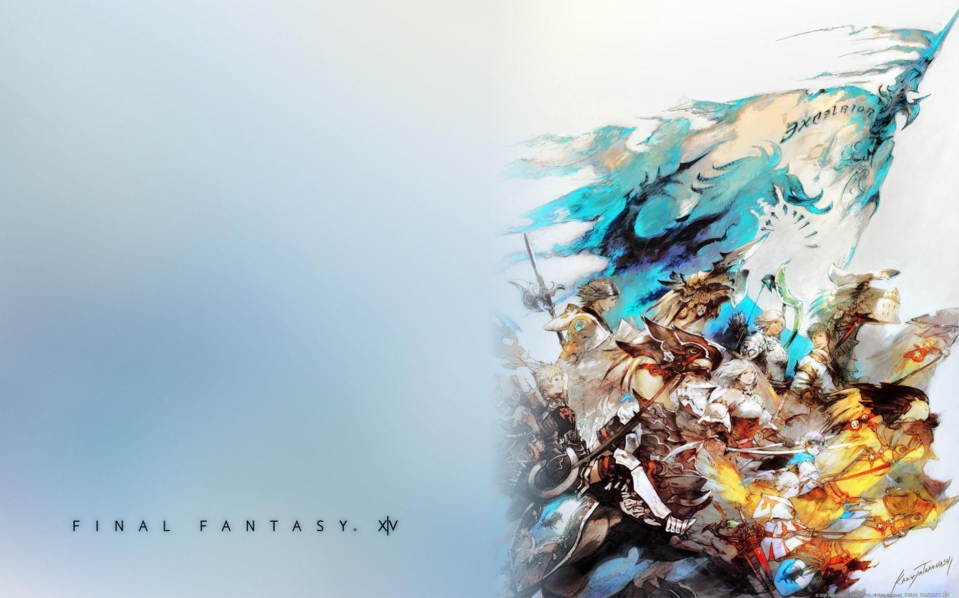 Official Final Fantasy XIV Themes/Wallpapers Released for PC and