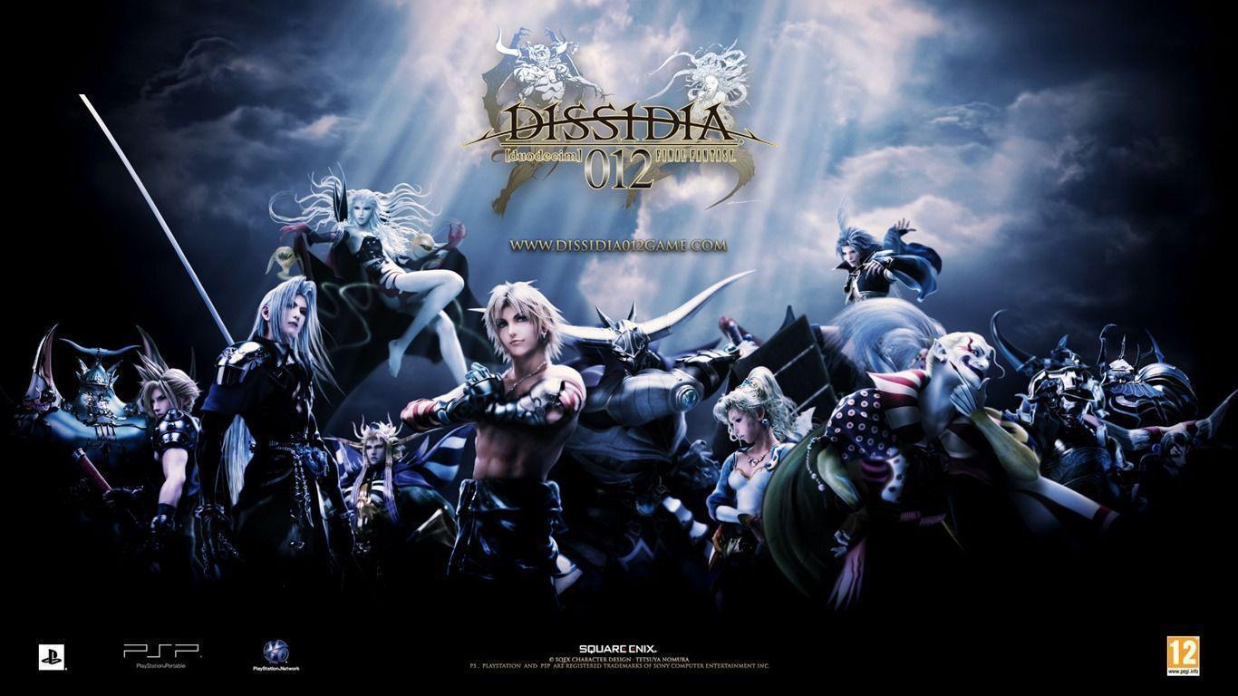 Dissidia 012 Duodecim Final Fantasy Game Wallpaper