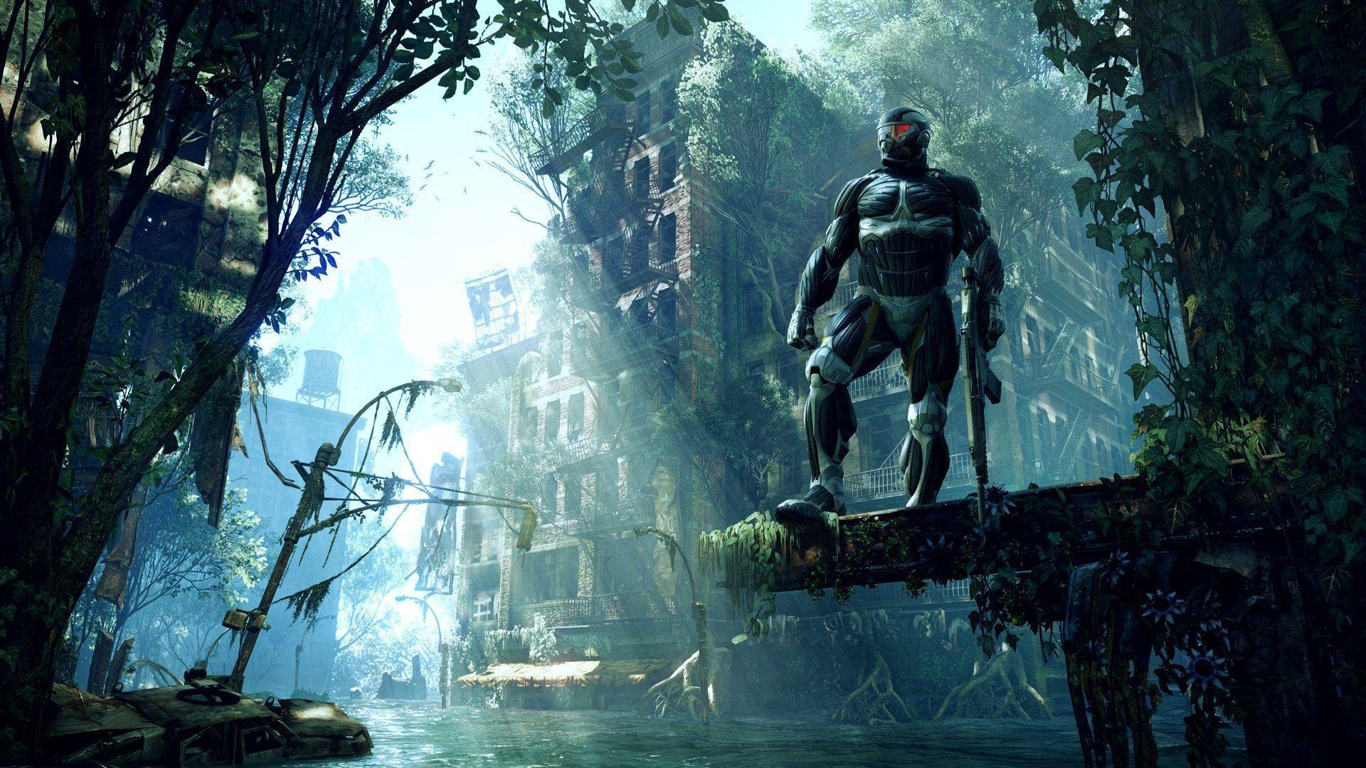 crysis 3 wallpapers wallpaper cave