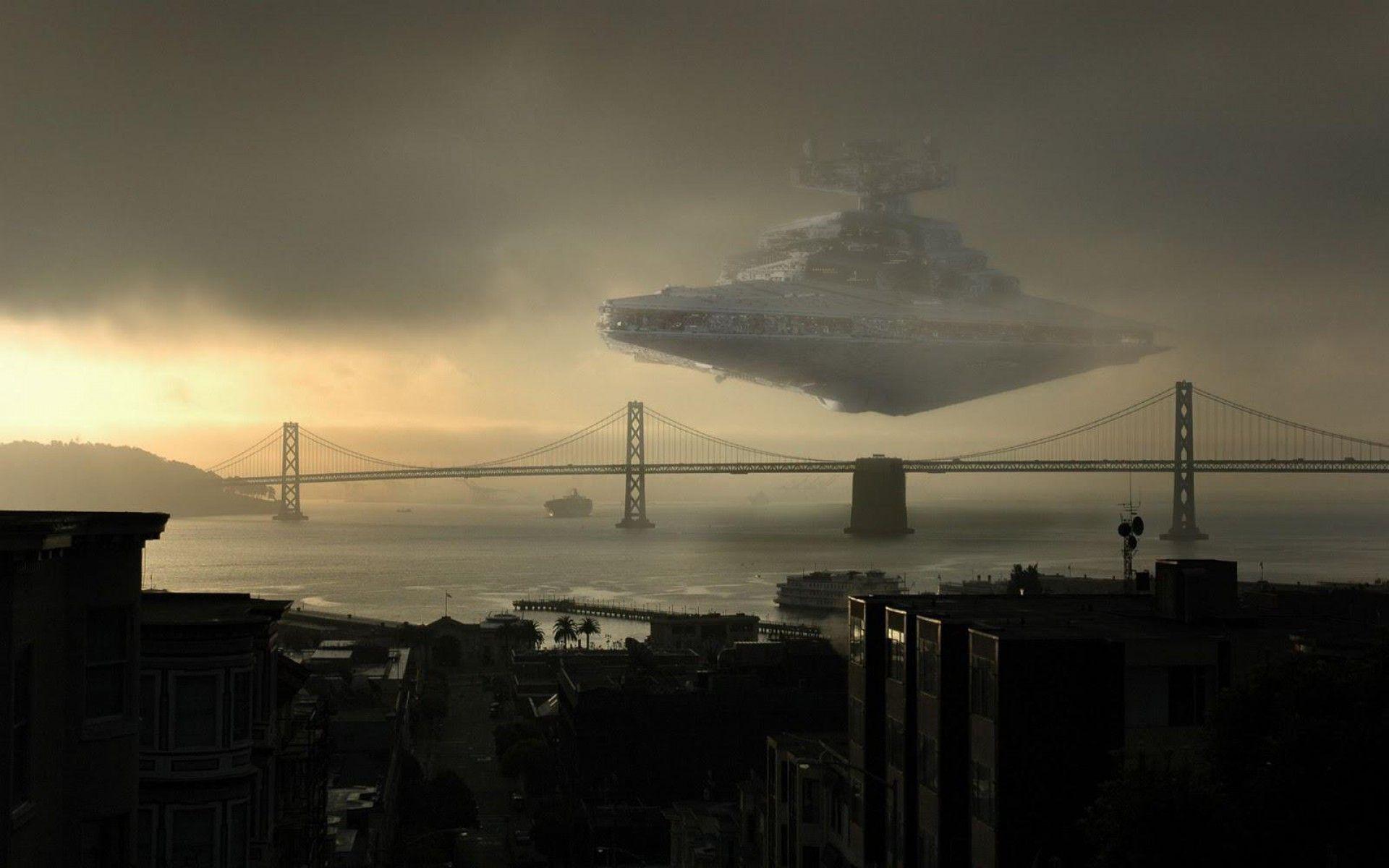 Star Wars Star Destroyer Spaceship Wallpaper - WallpaperTube