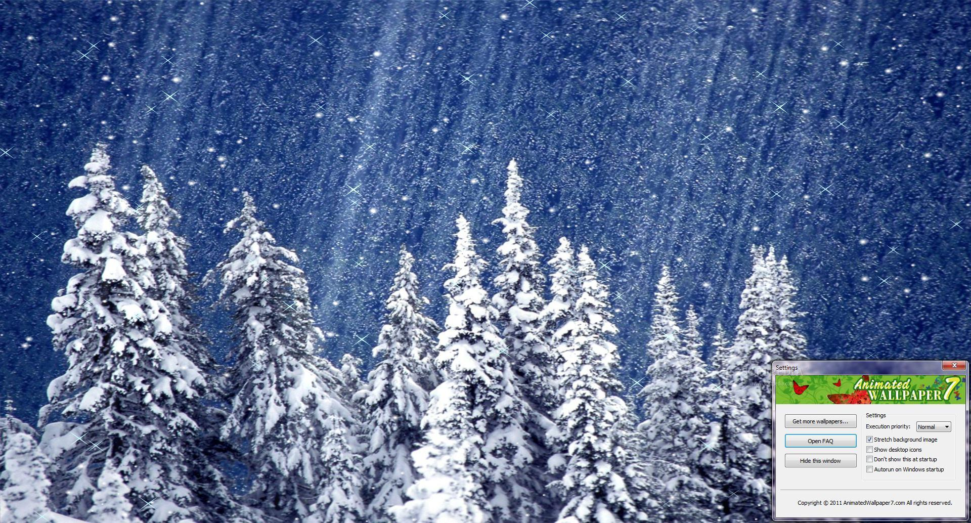 background gallery snow animated - photo #6