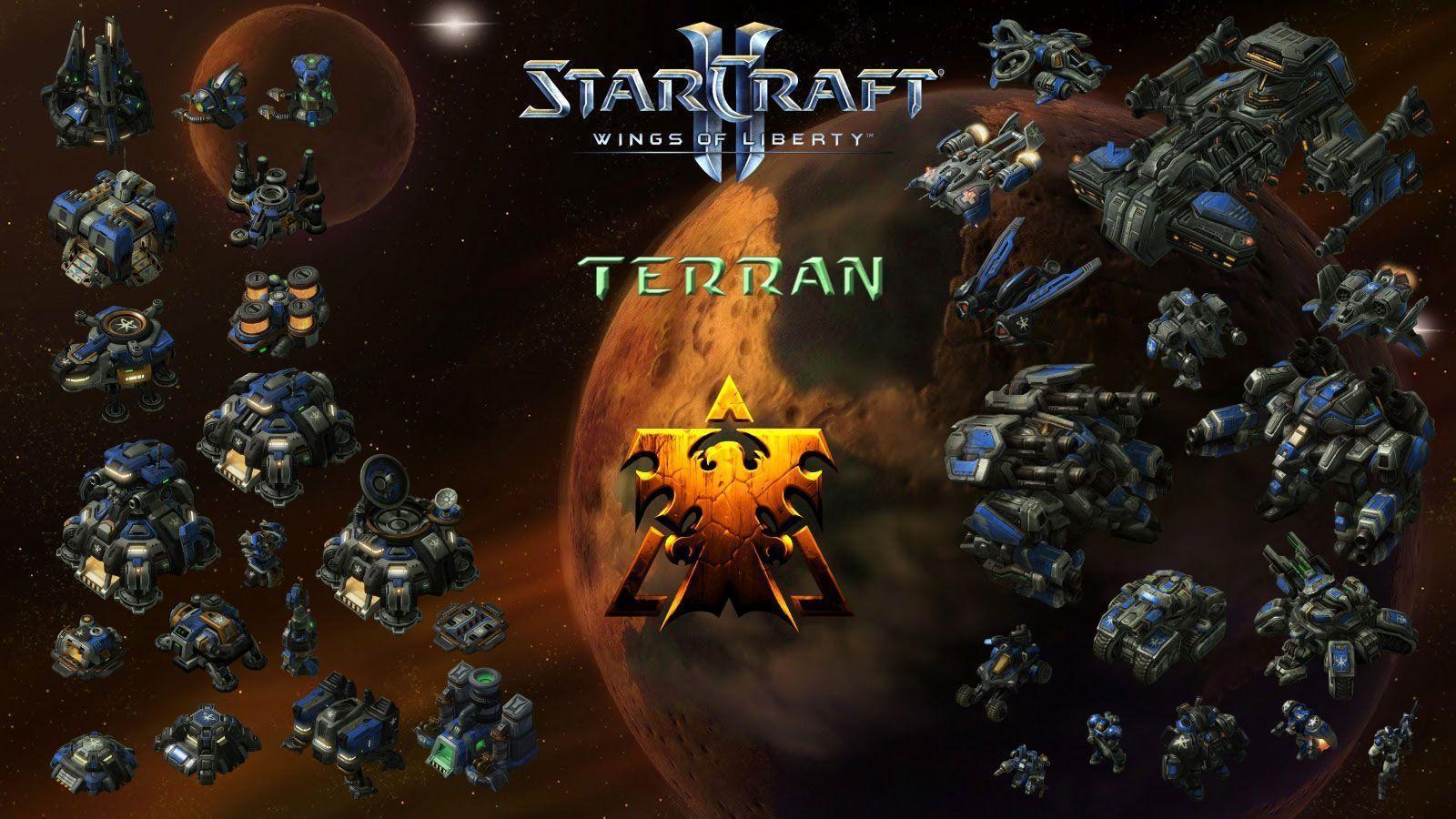 starcraft ii terran wallpaper - photo #7