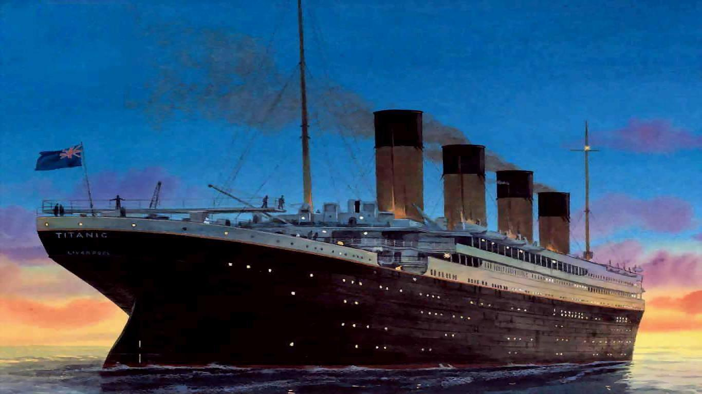 Titanic Sinking Wallpaper - Viewing Gallery