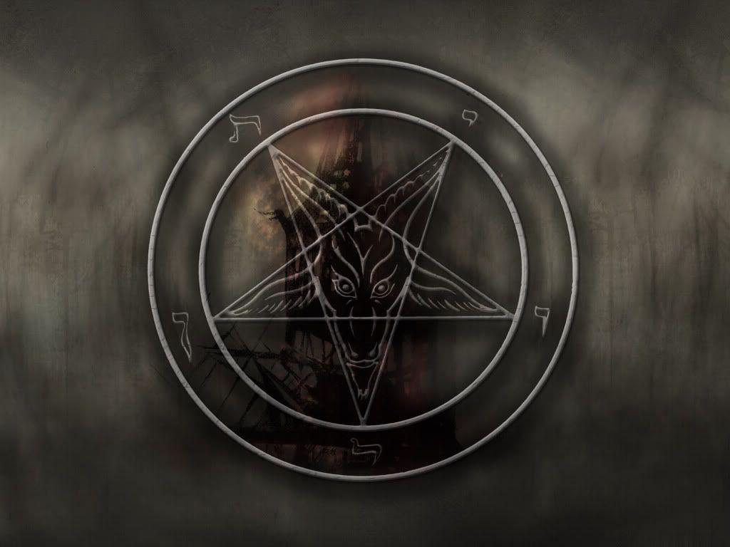 Satanic pentagram wallpapers wallpaper cave for Domon pictures