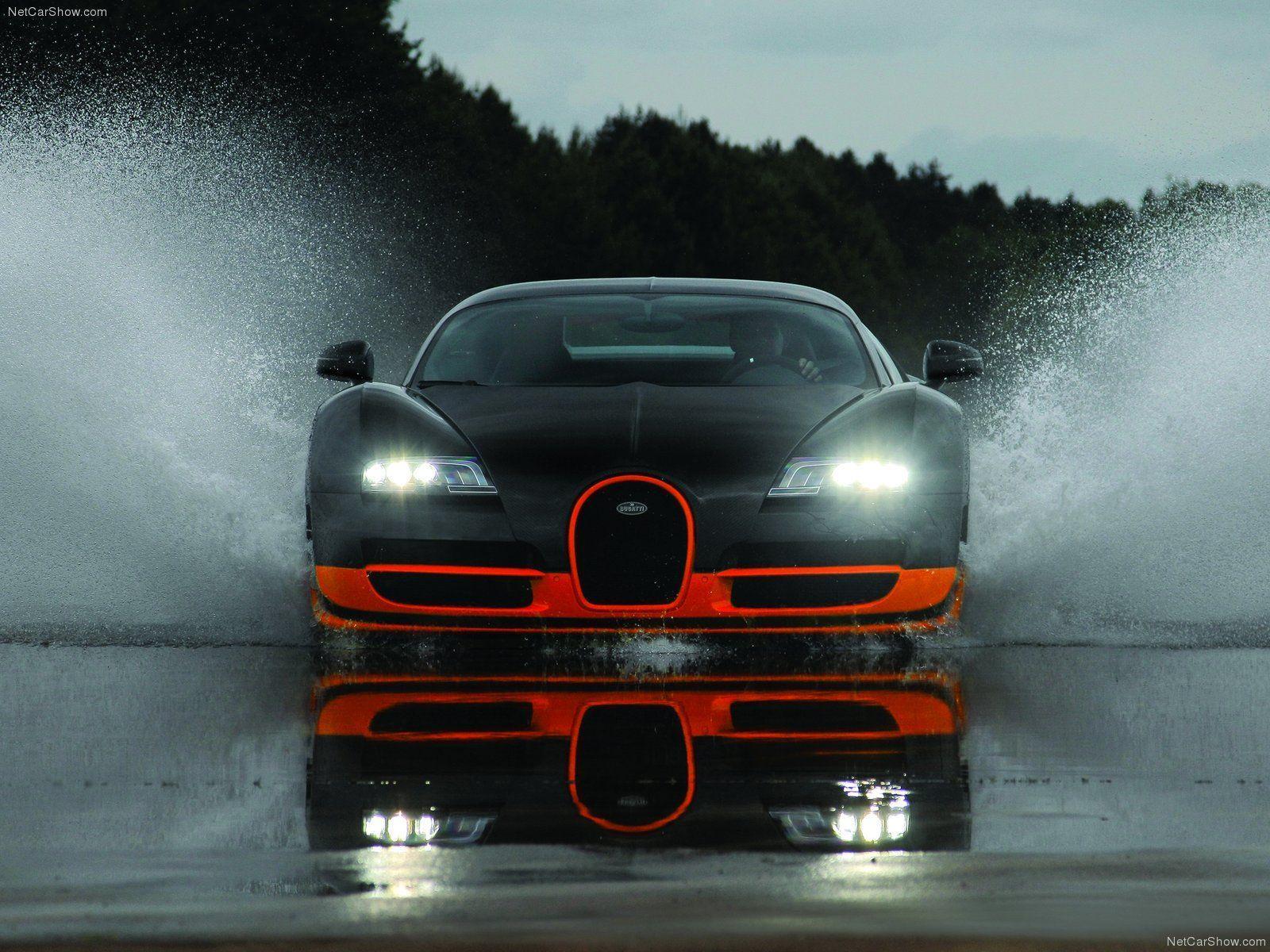 funmozar supercars bugatti veyron - Bugatti Veyron Wallpaper