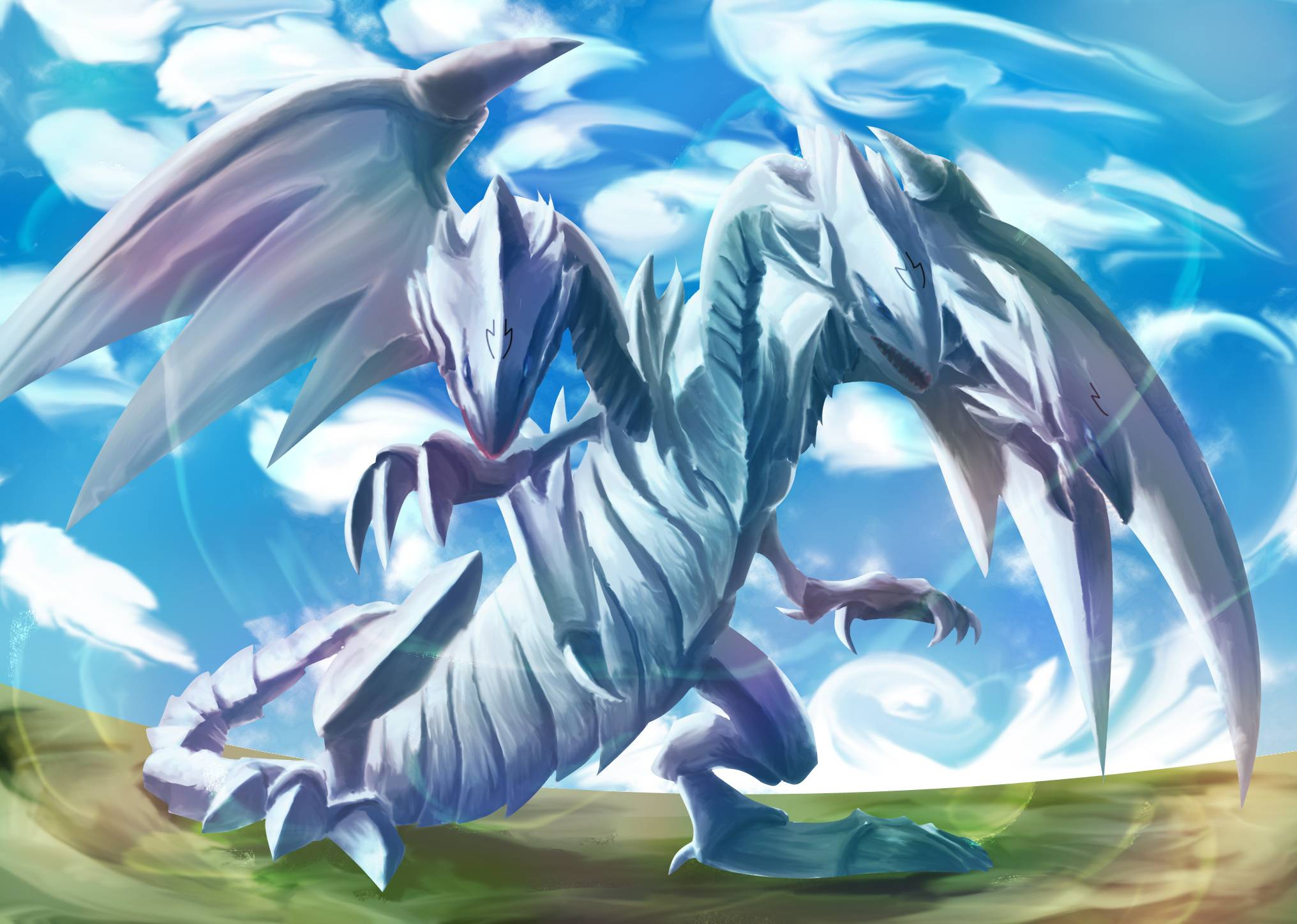 how to get blue eyes white dragon