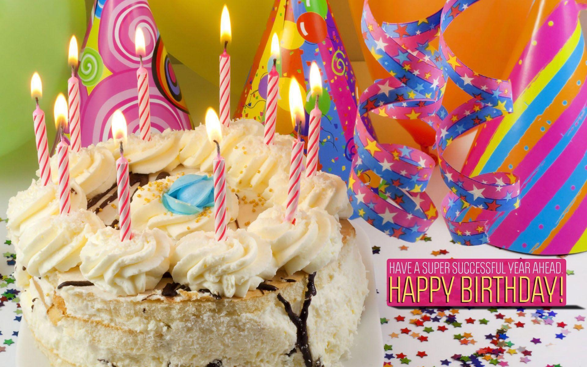 Widescreen Happy Birthday For Wallpaper, HQ Backgrounds | HD ...