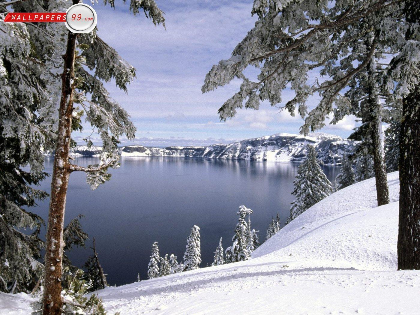 free desktop wallpapers winter scenes